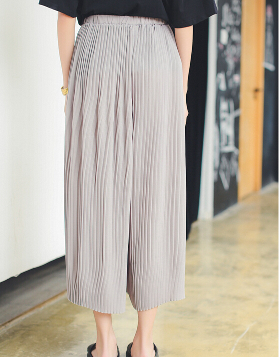 women pleated pants - Pi Pants