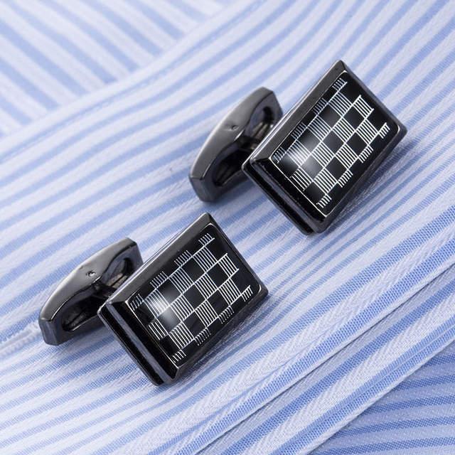 French Shirt Cufflinks Brass Luxury Gemelos High Cuffs Cuff Links 51479
