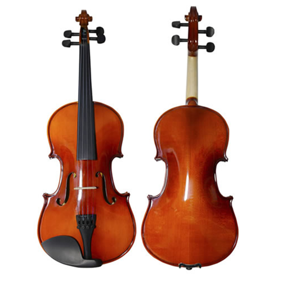 Oil Varnish Beginner Violin Handcraft Maple Wood Violino Music Instrument+Case+Bow String+Rosin+Mute TONGLING Brand OEM image