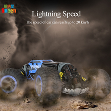 Snaen Remote Control Electric Crawl Off Road Truck High Speed Racing Climbing RC Car 2.4G 4WD Monster Vehicle, One Key Transform