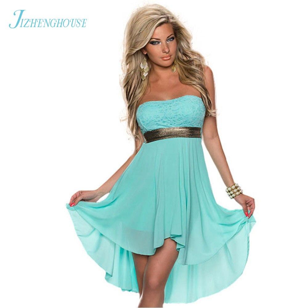 Aliexpress.com : Buy JIZHENGHOUSE Summer Short Dresses Casual Womens ...