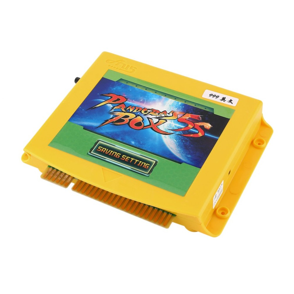 Arcade Game Entertainment System 999 in 1 Games Console Jamm Board PCB Multigame Card CRT/VGA Output English Version heroes of the stom 5 upgraded version 2000 in 1 games jamma multigame pcb board vga hdmi output for led lcd arcade game