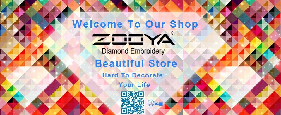 745777251624b ᓂZOOYA Malowanie Podłubać diament diament Mozaika 3D Zestawy Do ...
