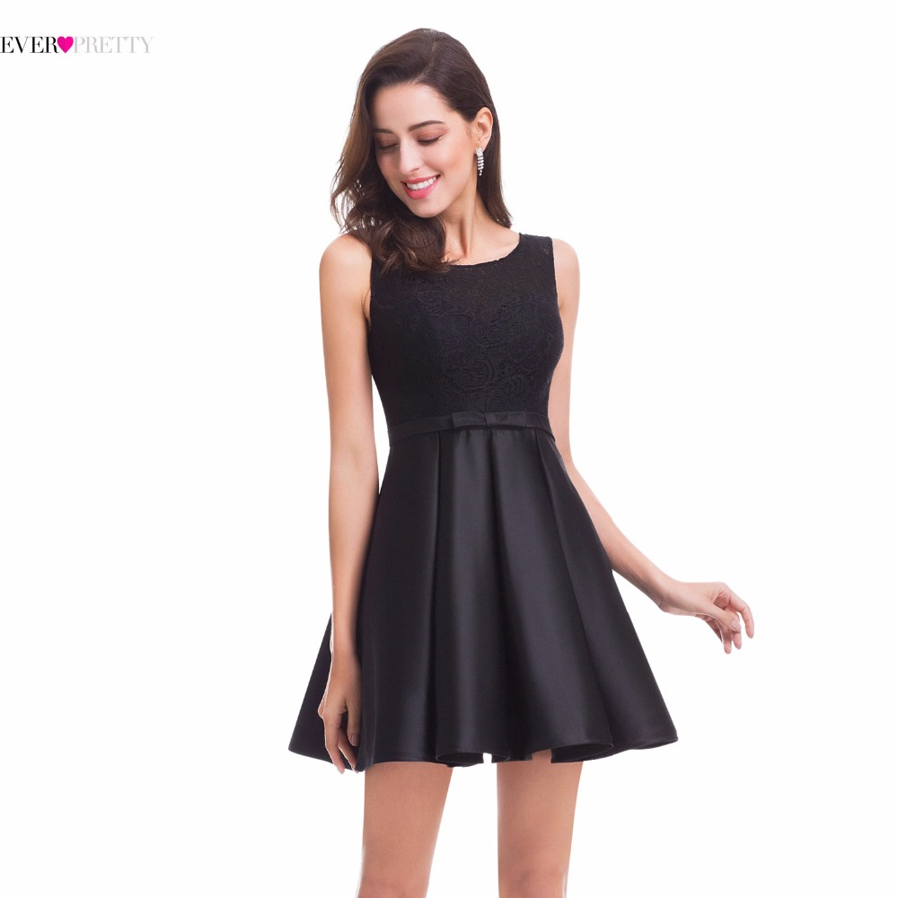 black party dress black cocktail dress pretty ep05777bk knee 12071