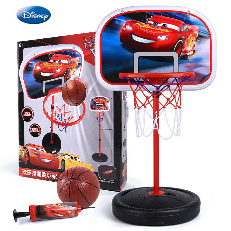 Disney Outdoor Fun & Sports  3-6 Years Old Boy Basketball Stand Can Be Raised And Lowered Shooting Box Indoor Children's Toys