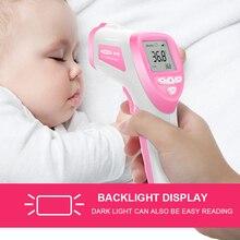 Профессиональный Цифровой ЖК Инфракрасный Термометр открытый дом бесконтактный ИК Измерения Температуры Метр Диагностический инструмент Устройства