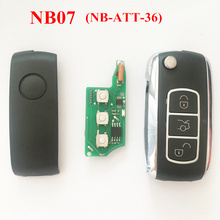 3 Buttons Remote Key For Peugeot Citroen Old Honda NB07 NB-ATT-36 Model For URG200 KD900 KD200 Machine