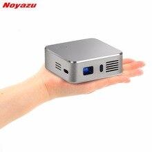 Noyazu Портативный мини светодиодный проектор Wi-Fi DLP пико-проектор с USB Беспроводной Управление для домашнего Открытый Путешествие