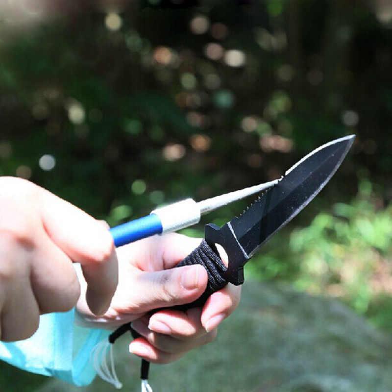 سكين احترافي مبراة الماس حصى بينساكين ماكينة شحذ طحن للصيد الصيد هوك في الهواء الطلق أدوات التخييم