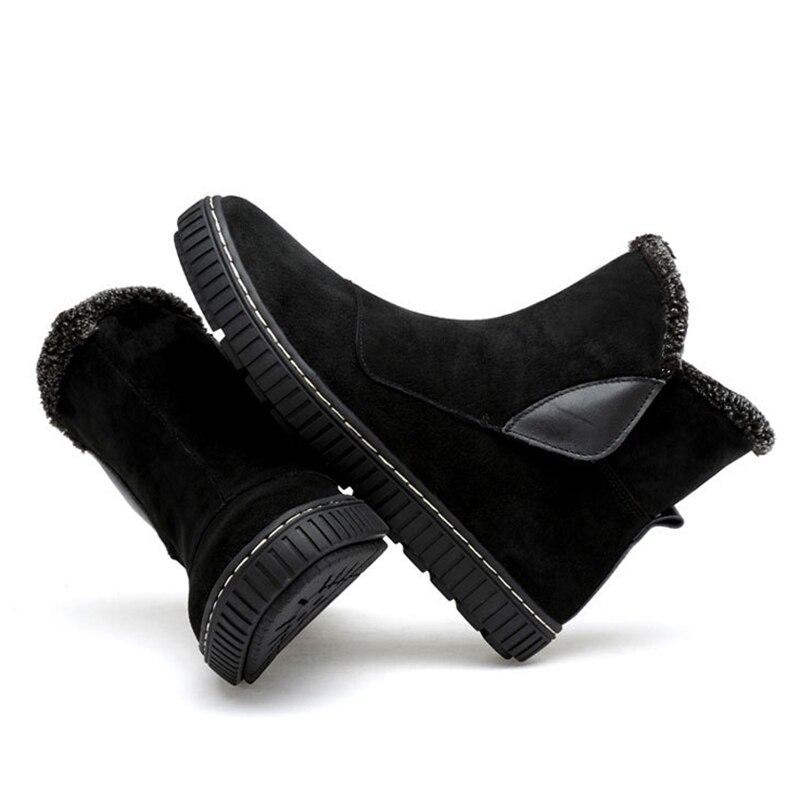 Black Aider Hommes Haute Cuir Chaud Couture Bottes De Neige Velours En Tendance Chaussures gray Plus La Pour Hiver Coton 0NPZ8nXkwO