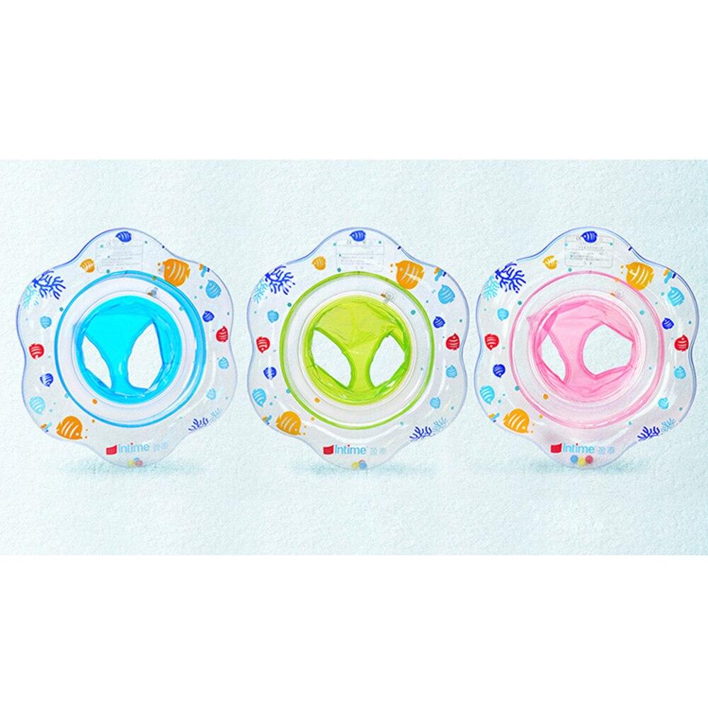 Anel Piscina Flutuante Inflável Impresso Para sentar na Piscina de Natação do bebê