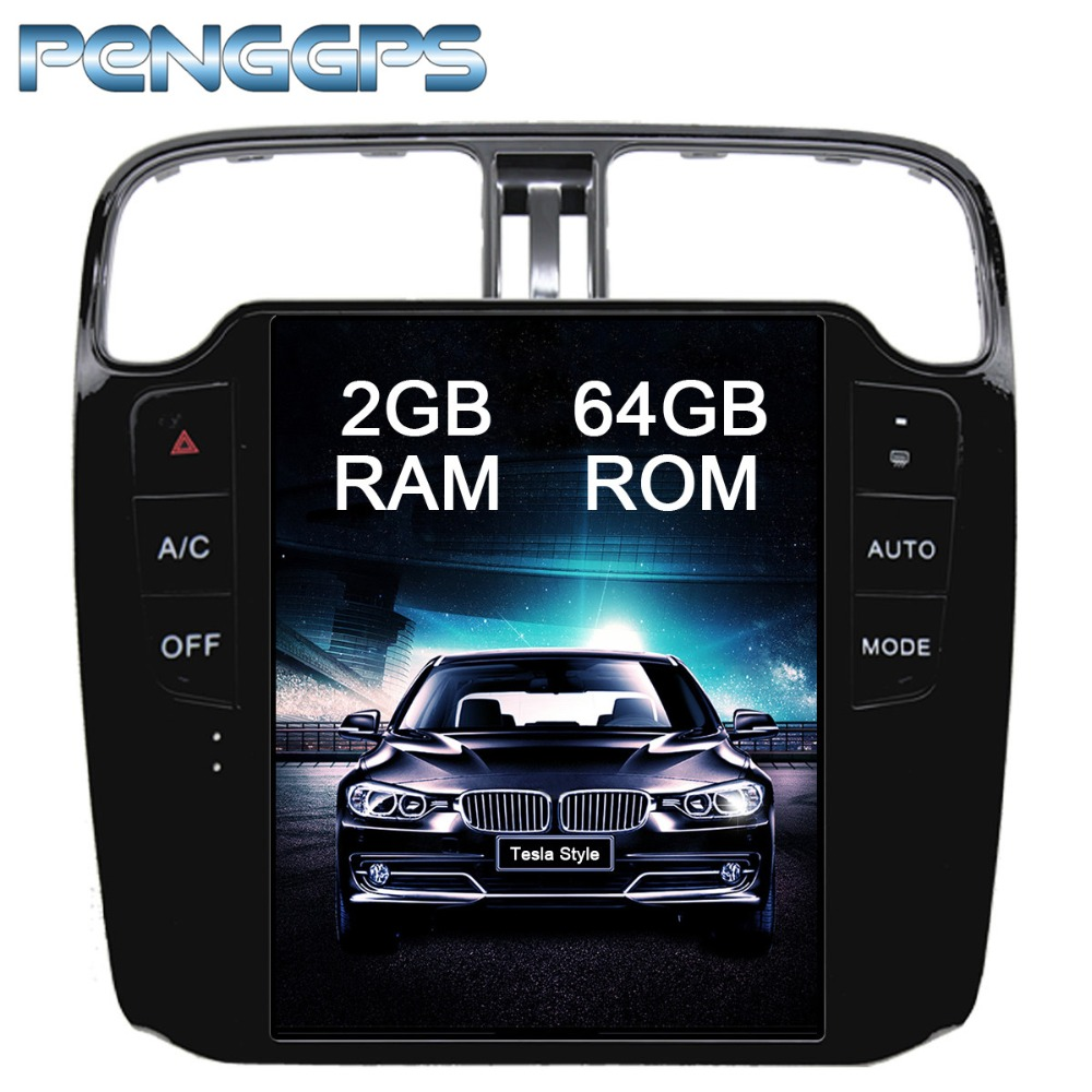 10 4 IPS Car Radio Android Car GPS Navigation DVD Player for Volkswagen Polo 2012 Tesla