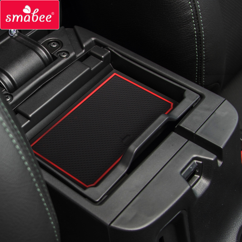 Gate slot pad For MITSUBISHI TRITON L200 PICKUP 2015-2017 4DR Non-slip Interior Door Pad/Cup Non-slip mats red blue white