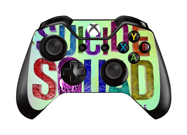 9 Styles Suicide Squad Vinyl Decal Skin Sicker Cover For Microsoft XBOX ONE Gamepad Skin Sticker For Xbox One Controller