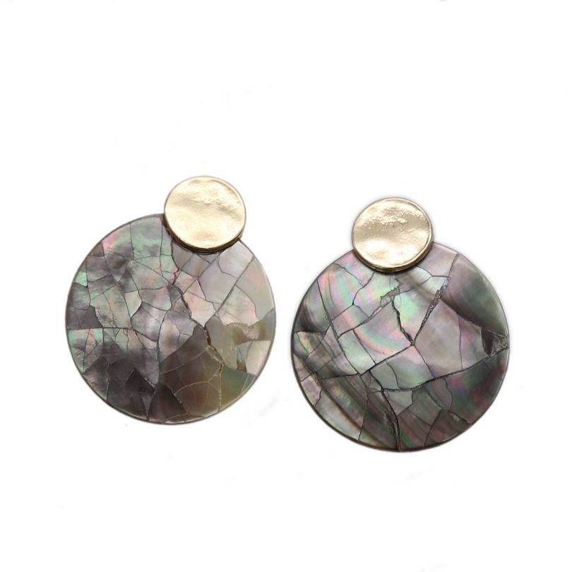 Abalone Shell Stud Earrings 3