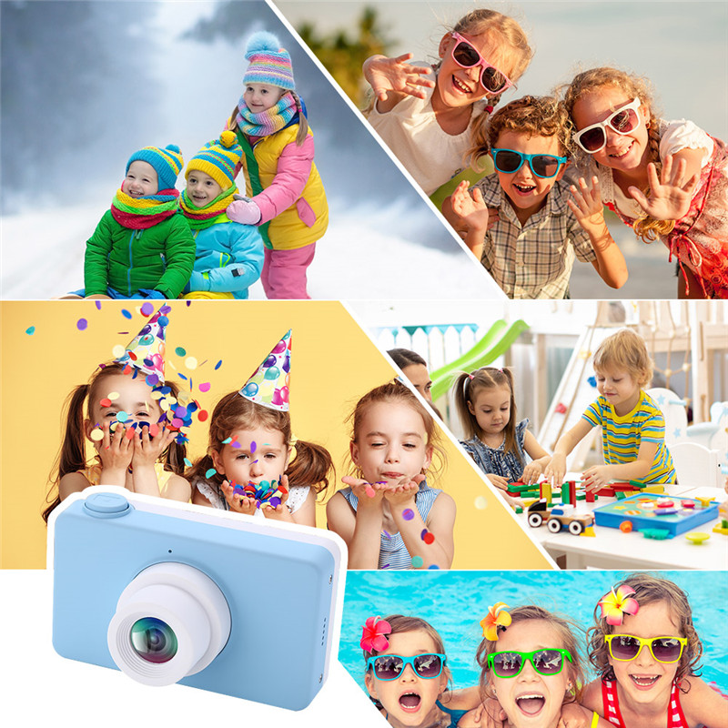 Kids Camera 2.0 Inch 8MP HD Video Digital Cameras Children Toys Mini HD Cartoon Cameras Kids Toys China Birthday Gifts For Boys