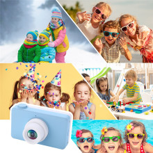 Buy Kids Camera 2.0 inch 8MP HD Video Digital Cameras Children Toys Mini HD Cartoon Cameras Kids Toys China Birthday Gifts for Boys directly from merchant!