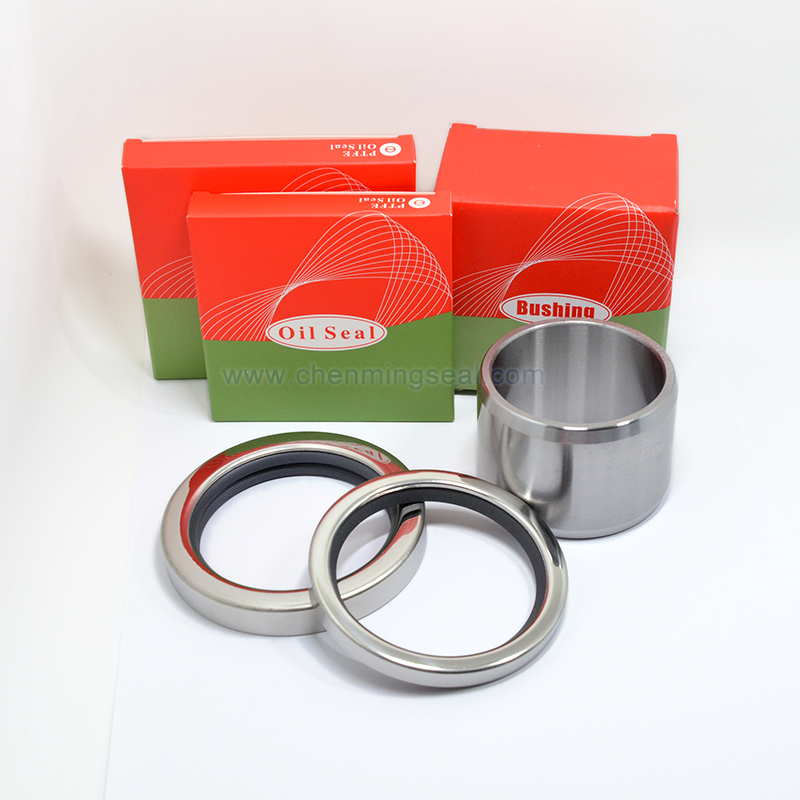 GHH Rand CF90D4 Repair Kit Screw Air Compressor Spare Parts 2pcs PTFE Oil Seal 1pc Shaft