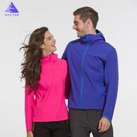 וקטור זוגות מעילי מעיל Softshell Windproof חיצוני ספורט קמפינג טיולי טרקים מעילים לגברים קפוצ 'ונים תרמית HMM60033