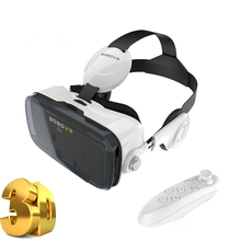 VR box Z4 Virtual Reality 3D glasses 120 Degrees FOV VR Box Headset 3D Movie Video Game with Headphone