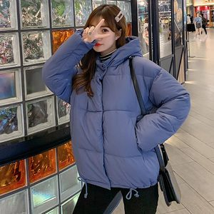 Image 4 - PinkyIsBlack סתיו חורף מעיל נשים מעיל 2019 אופנה נקבה סלעית חורף מעיל נשים קצר מעיילים חם מזדמן מעיל נשי