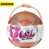Limited Edition LOL Big Surprise Ball Color Change Egg Super Luxury Dress Up Toys 50 Kinds Of Surprises Action Figure Dolls Gift