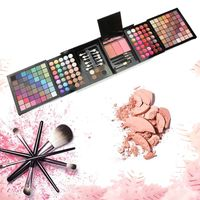 177 Colors Pro Eyeshadow Combination Moisturizing Makeup Set Box Make Up Palette Pressed Glitter Nude Eyeshadow Palette Gift