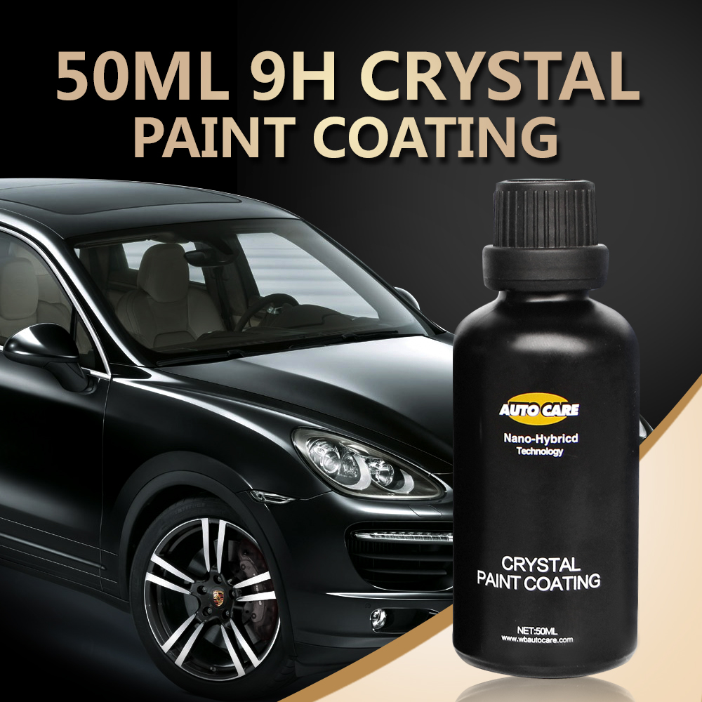 9H Paint Care Car Liquid Glass Ceramic Car Coating Nano Hydrophobic Car Polish Auto Detailing High Gloss Super Hydrophobic Kit