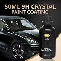 9H Paint Care Car Liquid Glass Ceramic Car Coating Nano Hydrophobic Car Polish Auto Detailing High