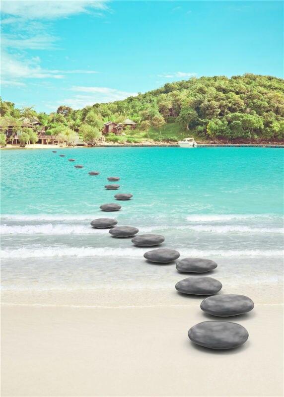 ヾ ノkidniu stone photography background tree water photo