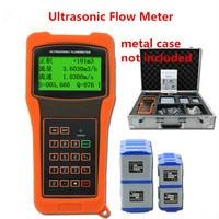 TUF-2000H-TM-1+TS-2 Ultrasonic Flow Meter Flowmeter TS-2 DN15-DN100 TM-1 DN50-DN1000 Without Package Case