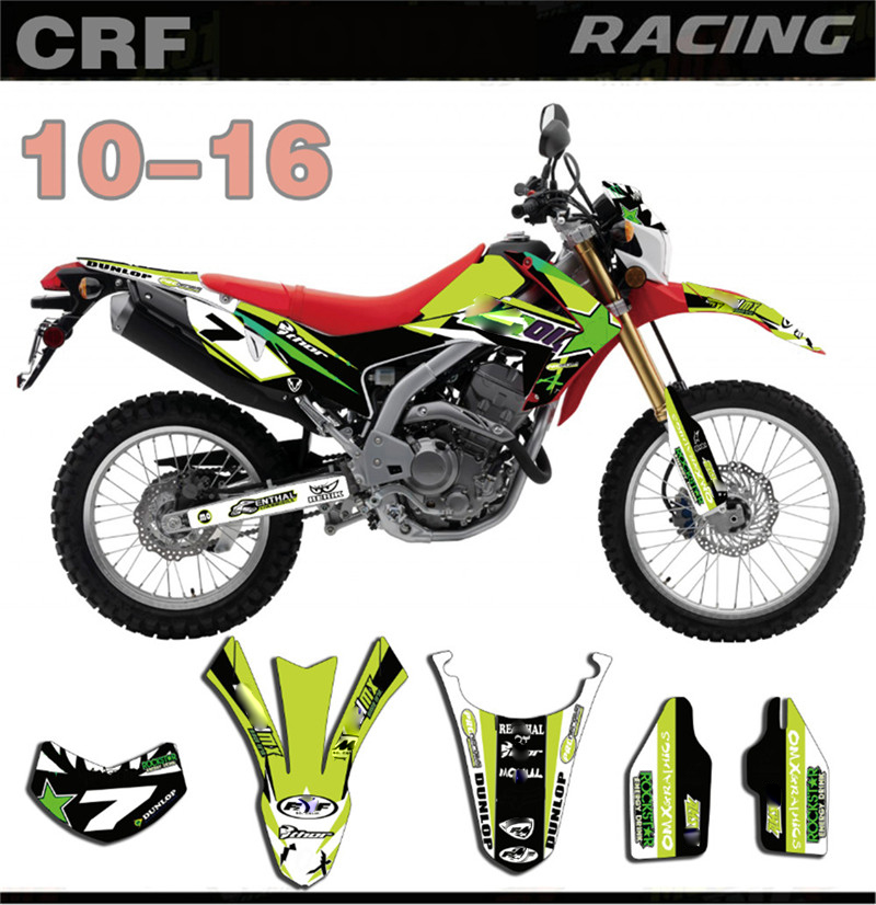 Motorcycle Full Stickes For Honda CRF250L CRF 250 L 2010-2016 2011 2012 2013 2014 GRAPHICS BACKGROUNDS DECAL With Rock PatternMotorcycle Full Stickes For Honda CRF250L CRF 250 L 2010-2016 2011 2012 2013 2014 GRAPHICS BACKGROUNDS DECAL With Rock Pattern