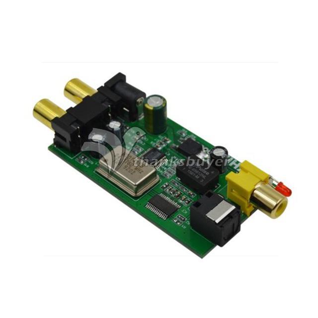 ZHILAI L5 Analógico Conversor De Sinal De Áudio Digital Decodificador bordo Placa Sinal de Simulação para Fibra Óptica Coaxial DAC