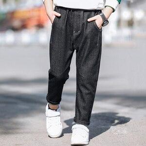 Image 4 - Leggings pour garçons, en coton, printemps automne, pantalons de survêtement à volants pour enfants, 3 à 12 ans, pour bébés garçons, 2020