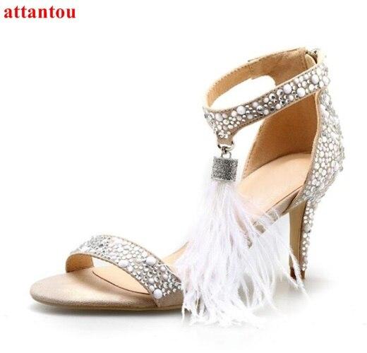 Chaussures de mariage à fermeture éclair Fashion femme RxoPLRV3