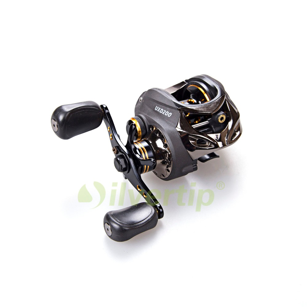 Free Shipping 10BB 7.0:1 Bait Fishing Reel Baitcasting Casting High Speed Gear Ratio Yoshikawa UXD200 nunatak original 2017 baitcasting fishing reel t3 mx 1016sh 5 0kg 6 1bb 7 1 1 right hand casting fishing reels saltwater wheel