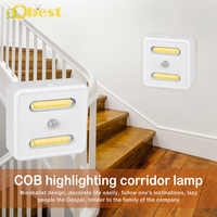 2Pcs Waterproof COB led lamp Simple style AC85-265V wall mounted white or warm white corridor aisle outdoor light