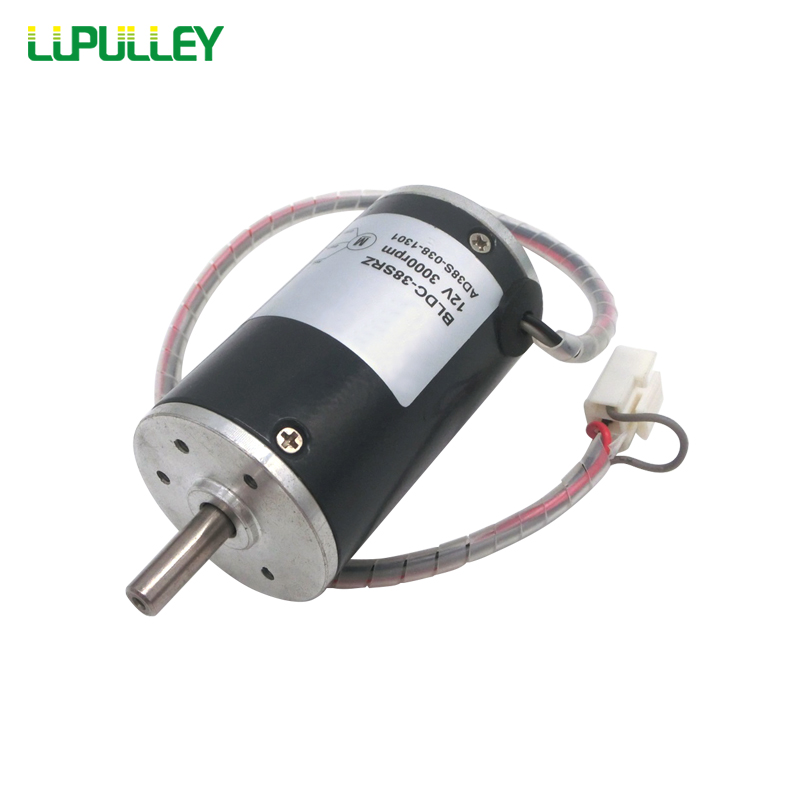 LUPULLEY Brushless Motor/Fixed Speed DC Motor High Speed 12V 24V BLDC-38SRZ-FS Reversible Rotation Motors 2000/3000/4000/5000RPM цена