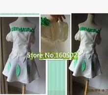 Аниме покемон Eevee Leafeon карманный монстр олицетворением лолита ну вечеринку платье косплей костюм на заказ любой размер новый