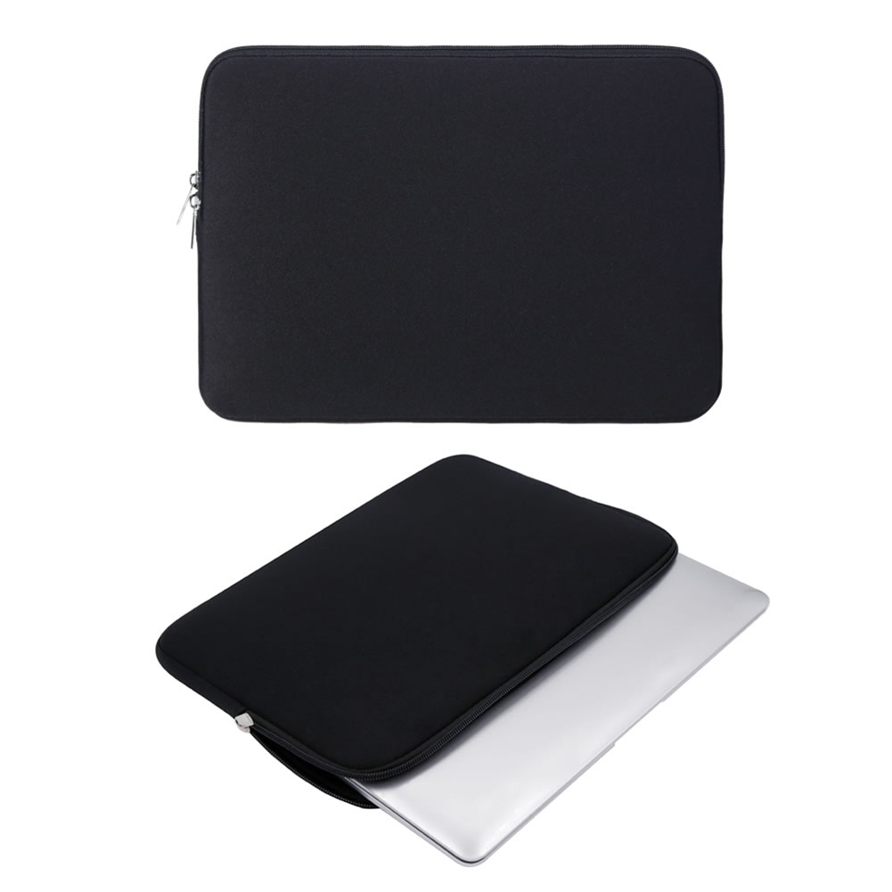 Laptop Sleeve Soft Zipper Pouch 12 13 14 15 15.6 Inch Bag Case Cover For MacBook Air Pro Ultrabook Notebook Tablet