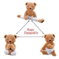Rod End Büküm Bacaklar Yoga Ayı Peluş Oyuncak Yaratıcı Yoga Teddy ayı Bebek Yumuşak Hayvan Çocuk Oyuncakları çocuklar Için Doğum Günü Hediyesi Ve arkadaşlar