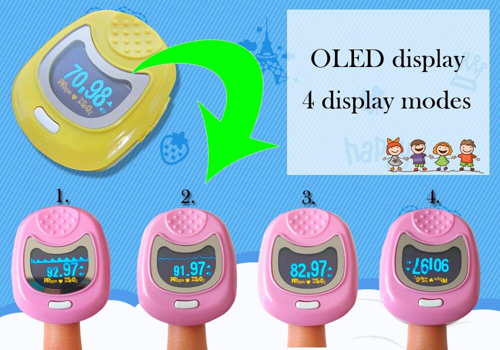 Crianças Crianças SPO2 w CMS50QB 9 v Da Bateria Recarregável