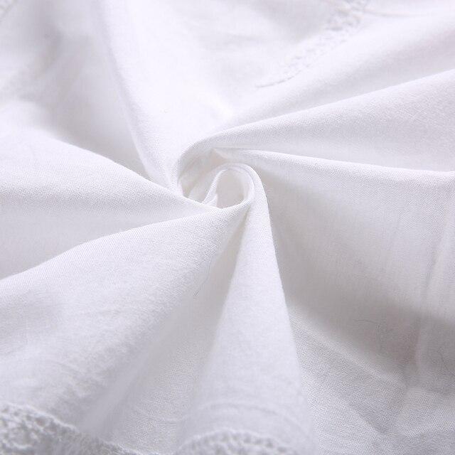 2 PCS di Cotone Fatta A Mano Cortina Del Merletto Del Crochet Del Fiore Tenda tenda di Colore Solido Tenda Cucina Tenda Tende Tenda Della Doccia per la Decorazione