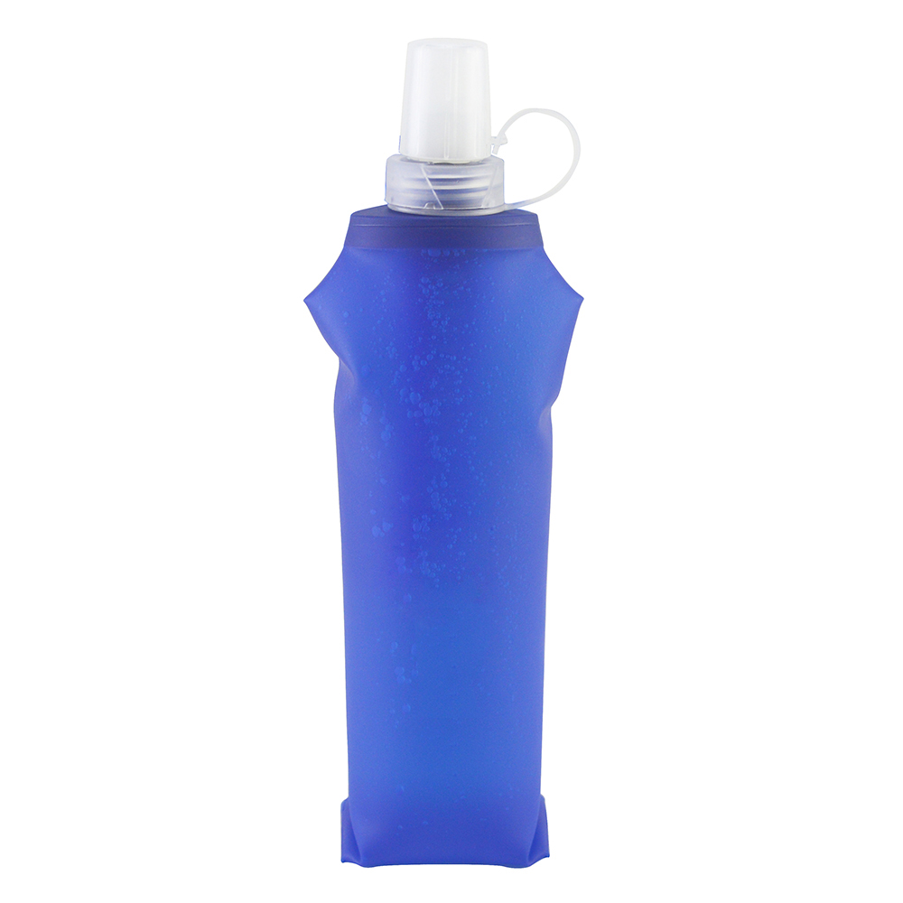 Foldable Flexible Soft Flask Water Filter Bag Bladder Water Filtration Bottle with Carabiner Emergency Survival Water Bag