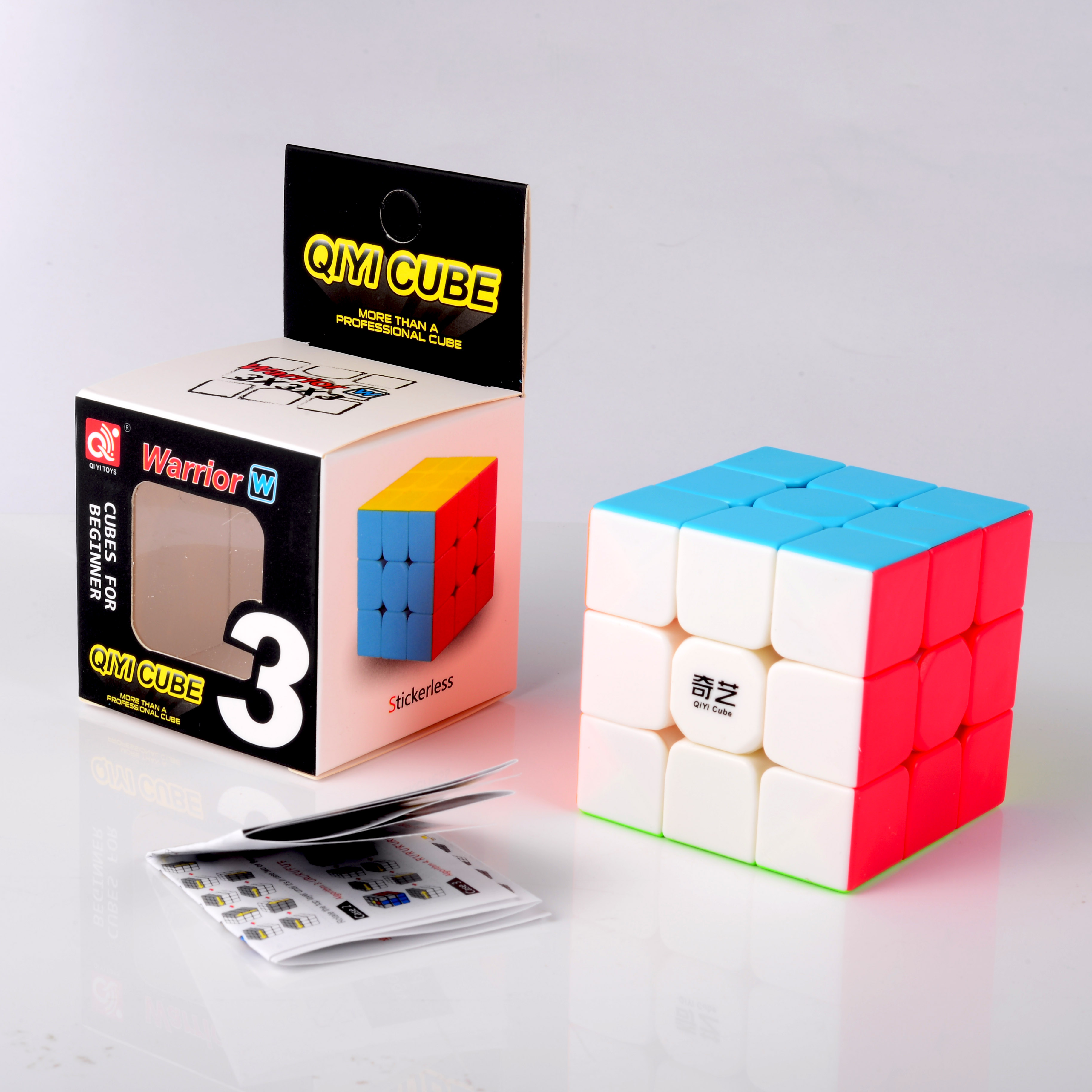 Qiyi Warrior W Colorful 3x3x3 Cube 3 Layers Magic Cube Profissional Competition Cubo 3x3 Neo Puzzle Speed Cube Toys For Children in Magic Cubes from Toys Hobbies