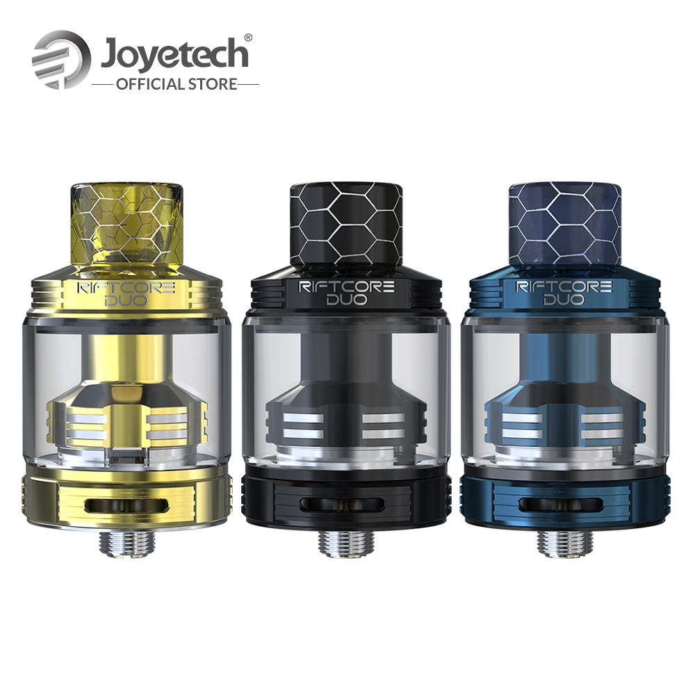 Original Joyetech RIFTCORE DUO Atomizer Coil-less With 3.5ml Capacity Tank By Self-cleaning Coilless System Electronic Cigarette