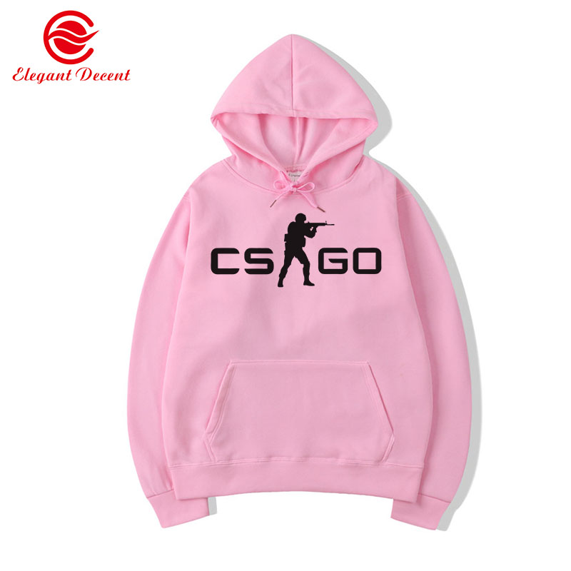 2019 Funny Hoodies Cool CS GO Gamer Sweatshirt Hot Counter Strike Global Offensive CSGO Men Hoodie Brand Clothing Y06