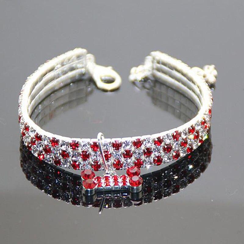 petit collier pour petit chien avec diamant