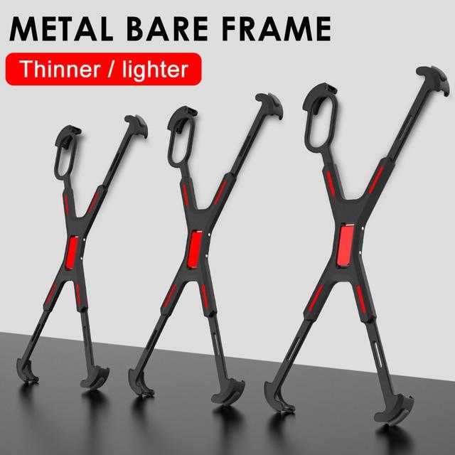 Carcasa de marco de Metal de lujo r-just para iphone X XS XR, carcasa fina de aleación de aluminio a prueba de golpes para iphone XS, Funda de protección máxima