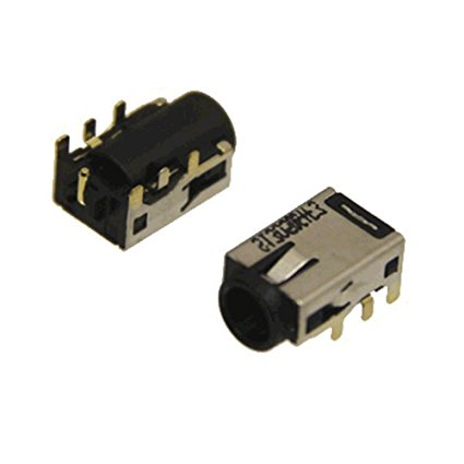 WZSM Brand New DC Power Jack Connector for <font><b>ASUS</b></font> Vivo Book F200E F201E F202E <font><b>Q200E</b></font> X200CA X200E <font><b>X201E</b></font> X202E S200E S200L S400CA image